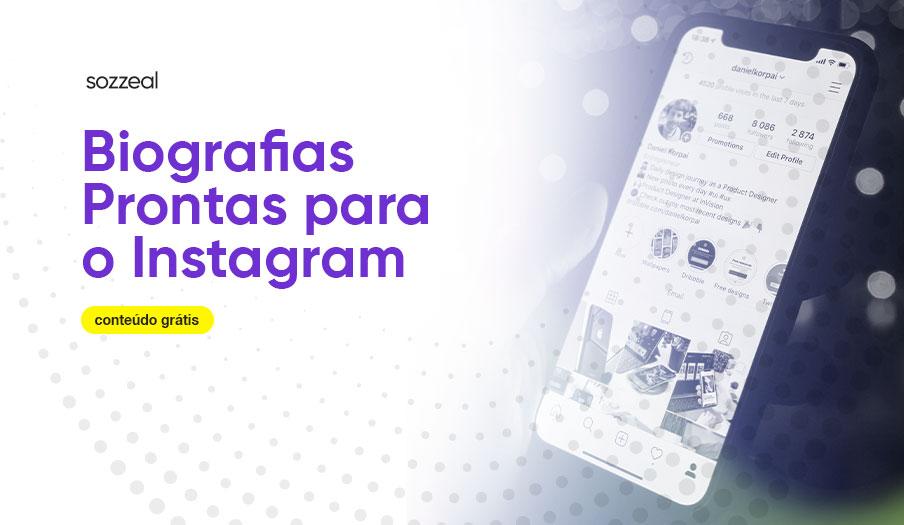 Biografias prontas para o instagram