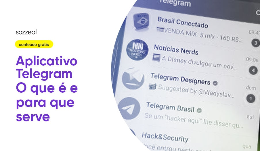 aplicativo telegram como usar