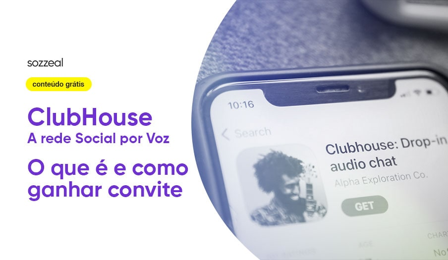 Clubhouse rede social por voz como ganhar convite