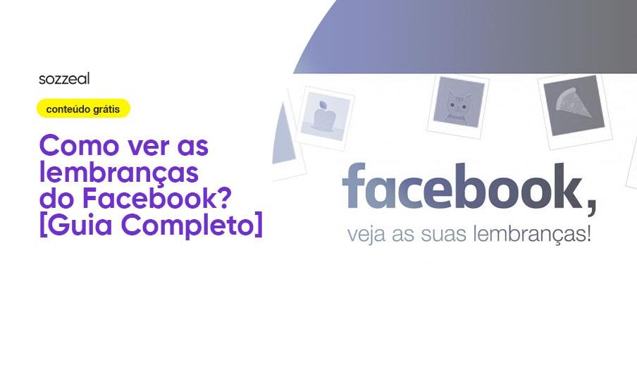 Como ver lembranças Facebook