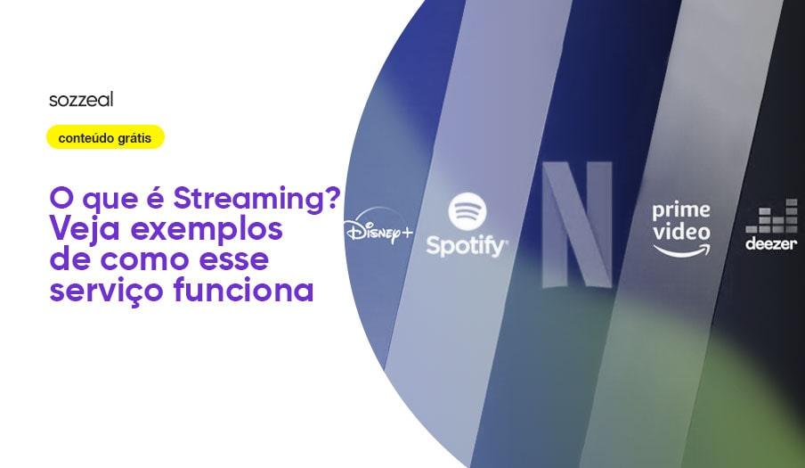 O que é Streaming - Sites de streaming
