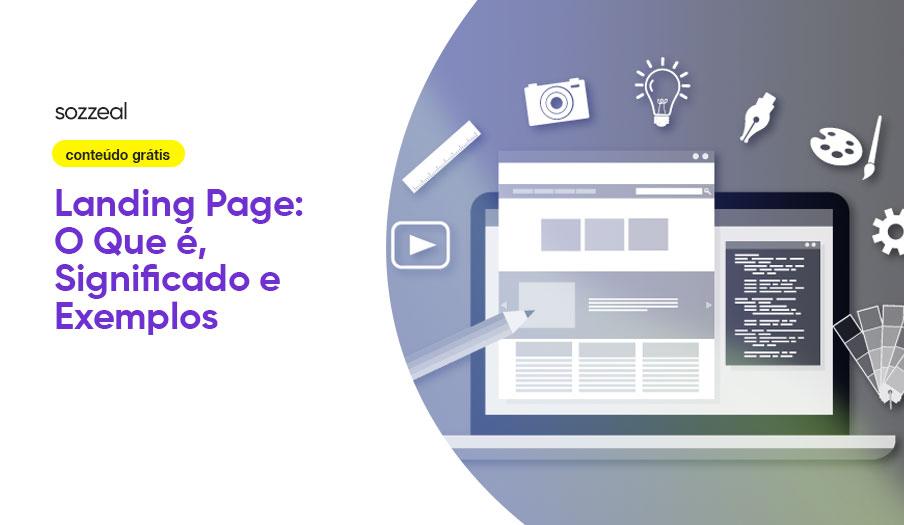 Landing Page o que é exemplos